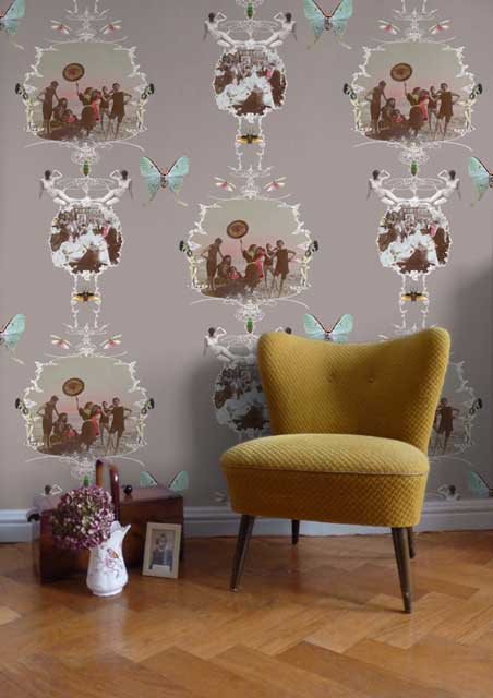 Unusual Wallpapers for The Home