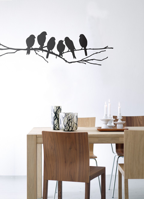 Wall Decals Love Birds